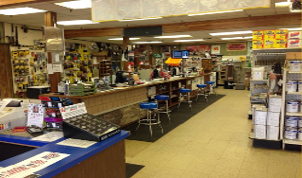 Benson's Building Supply Counter